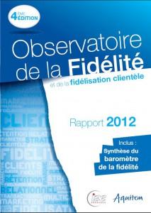 Observatoire fidelite 2012 couverture rapport